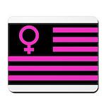 Female Flag Mousepad