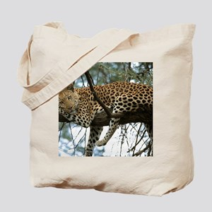 Leo Tree panel print Tote Bag