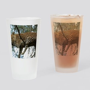 Leo Tree panel print Drinking Glass