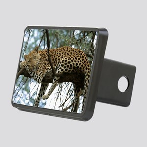 Leo Tree panel print Rectangular Hitch Cover