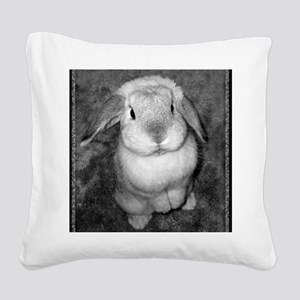 01_January Square Canvas Pillow