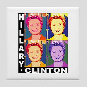 Hilary Pop Art Tile Coaster