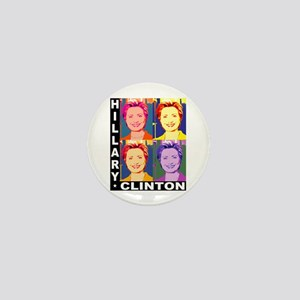 Hilary Pop Art Mini Button