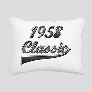 Classic 1958 Rectangular Canvas Pillow