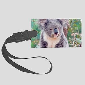 Koala Smile L print Large Luggage Tag