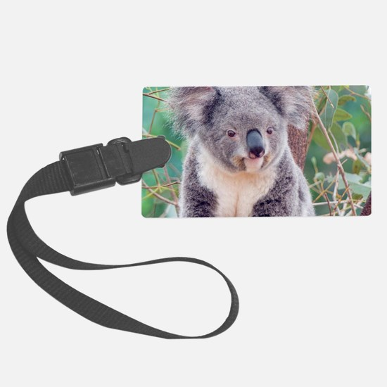 Koala Smile L print Luggage Tag