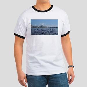 Scenic Liverpool (Blue) Ringer T