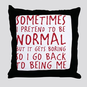 beingme Throw Pillow