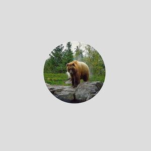 Grizzly Mini Button