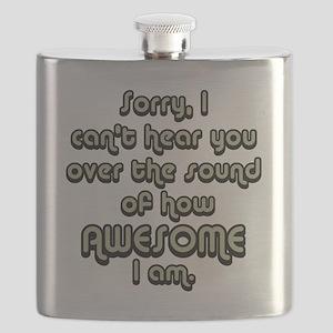 sorryicanthearyougrayblack Flask