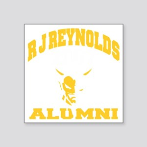 "ALUMNI07 Square Sticker 3"" x 3"""