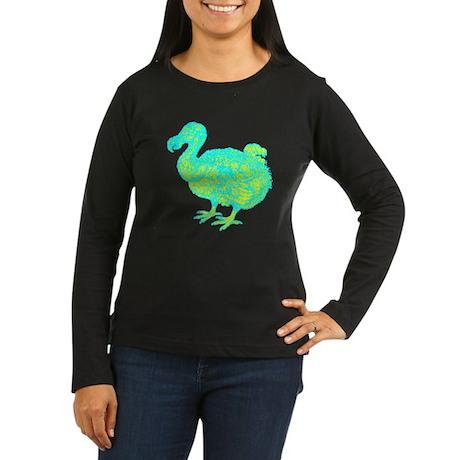 Dodo Nest Women's Long Sleeve Dark T-Shirt