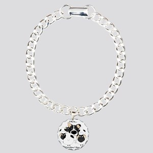 BorderCollieHerdingLight Charm Bracelet, One Charm