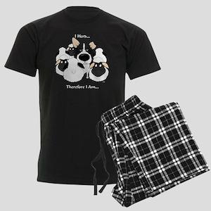 BorderCollieHerdingDark Men's Dark Pajamas