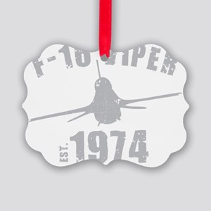 varsity-f16-74-gray Picture Ornament