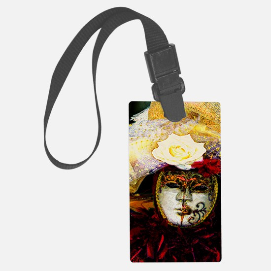 carnival_mask d by Blake Robson Luggage Tag
