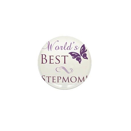 Butterfly_stepmom Mini Button
