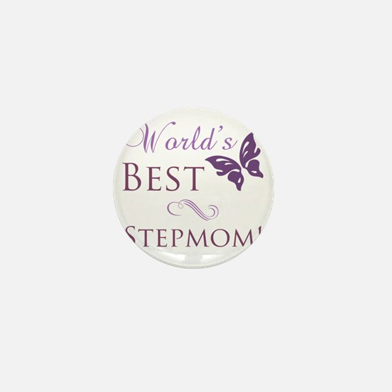 Butterfly_stepmom Mini Button