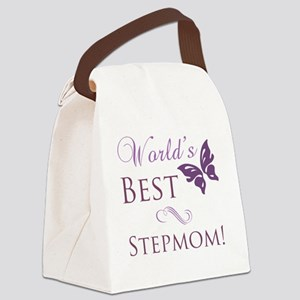 Butterfly_stepmom Canvas Lunch Bag