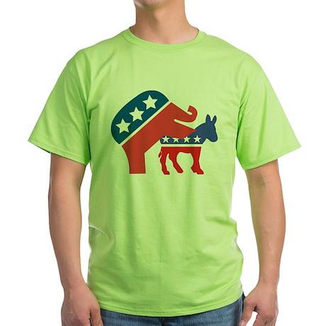 Donkey Hump Green T-Shirt