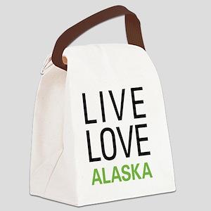 liveAK Canvas Lunch Bag