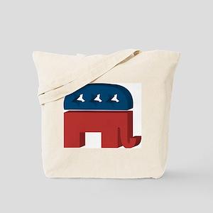 3D Elephant Tote Bag