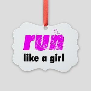 runlg_sticker Picture Ornament
