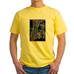 Negative Yellow T-Shirt