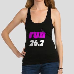 runlg_26_white Racerback Tank Top