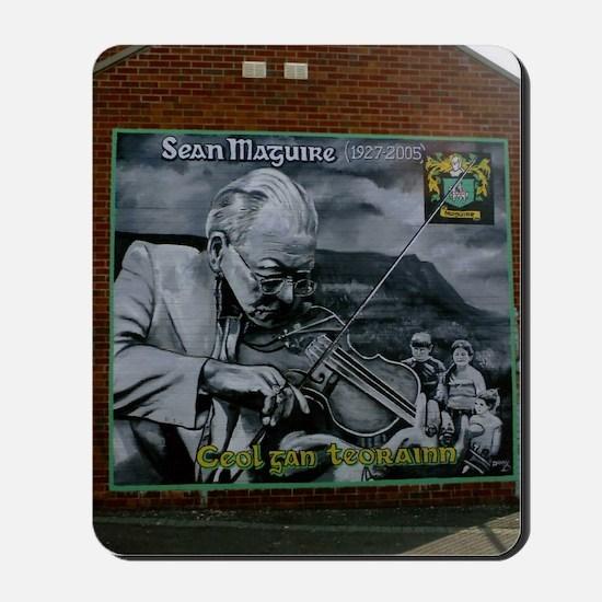 BelfastSeanMaguire Mousepad