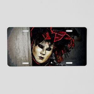 carnival_mask c by Blake Ro Aluminum License Plate