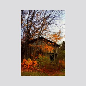 Autumn Shed Rectangle Magnet
