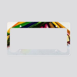 colored_pencils copy License Plate Holder