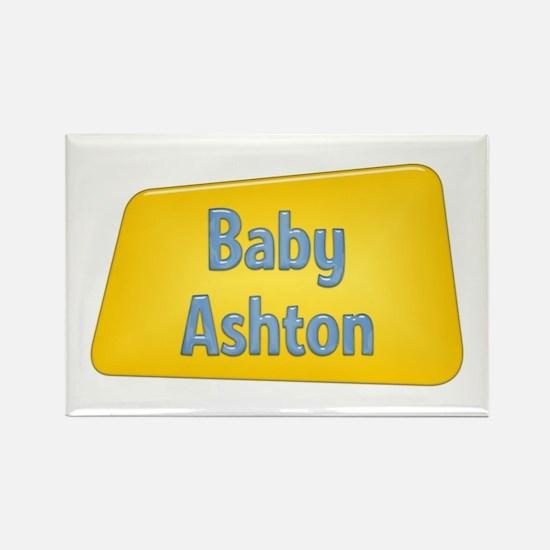 Baby Ashton Rectangle Magnet