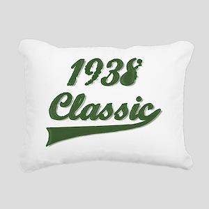 Classic Green 1938 Rectangular Canvas Pillow