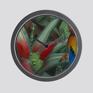 Cloud Forest Painting Section Wall Clock