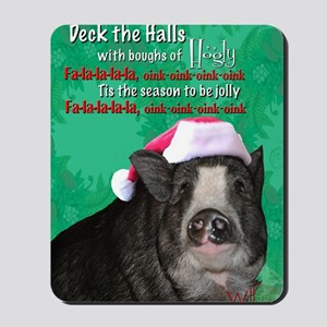 deck-the-halls Mousepad