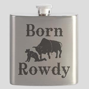 Born Rowdy boys Flask