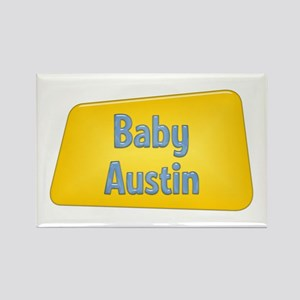 Baby Austin Rectangle Magnet
