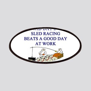 dog sled racing gifts apparel Patches