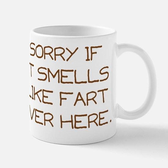 fart novelty Mug