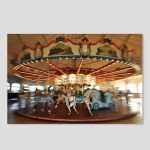 Santa Monica Pier Carouse Postcards (Package of 8)