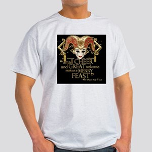 comedyoferrors-gold Light T-Shirt