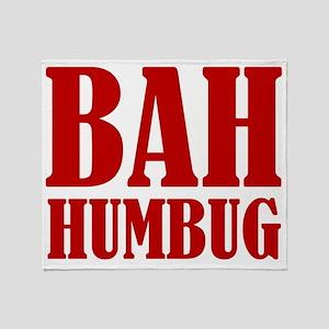 Bah Humbug Throw Blanket