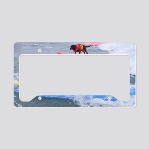 Helen Woodward surf contest License Plate Holder