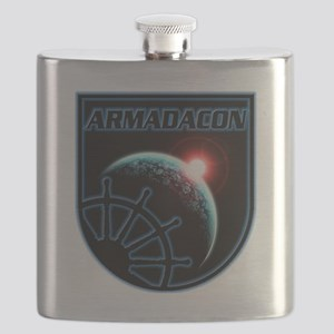 ArmadaConLogoX2Size Flask