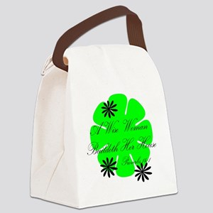 Wisewoman Canvas Lunch Bag