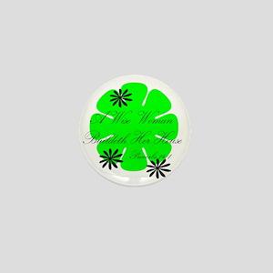 Wisewoman Mini Button