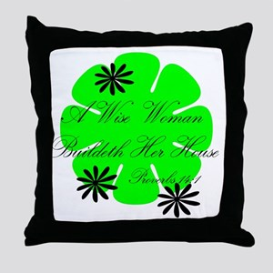 Wisewoman Throw Pillow