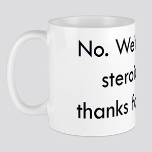 swim coach slogan 4 copy Mug